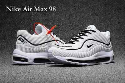 air max 98 homme noir et blanc
