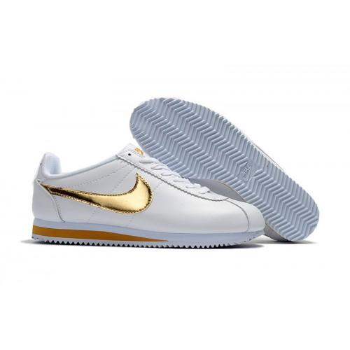 new styles 1ea96 22732 2018 Nike Chaussure Blanche femme Classic Et Og Cortez wzTER